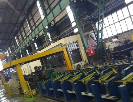 Medium Section rolling Mill- 3rd Finishing Line
