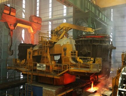 Jumbo Continuous Casting Machine
